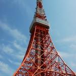 東京タワーで鯉のぼりのイベントがやっていました