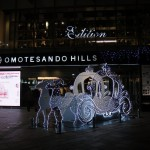 WALT DISNEY 110th Anniversary OMOTESANDO HILLS Christmas 2011 Stars of Dreams with Panasonic Beauty