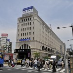 昔の姿になった浅草駅