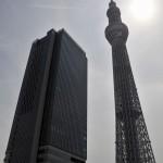 オープンして2週間ほどの東京スカイツリー