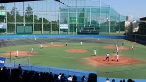 秋季東京都高等学校野球大会「国士舘 − 実践学園」3
