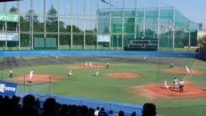 秋季東京都高等学校野球大会「国士舘 − 実践学園」6
