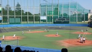 秋季東京都高等学校野球大会「国士舘 − 実践学園」8