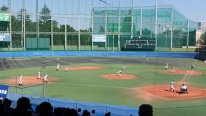 秋季東京都高等学校野球大会「国士舘 − 実践学園」9