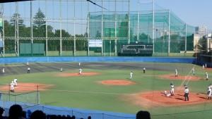 秋季東京都高等学校野球大会「国士舘 − 実践学園」10