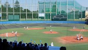 秋季東京都高等学校野球大会「国士舘 − 実践学園」11