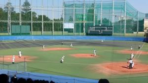 秋季東京都高等学校野球大会「国士舘 − 実践学園」12