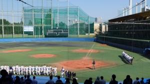 秋季東京都高等学校野球大会「国士舘 − 実践学園」15