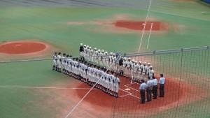 秋季東京都高等学校野球大会「二松學舍大附 − 帝京」5