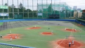 秋季東京都高等学校野球大会「二松學舍大附 − 帝京」8