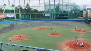 秋季東京都高等学校野球大会「二松學舍大附 − 帝京」9