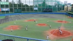 秋季東京都高等学校野球大会「二松學舍大附 − 帝京」10
