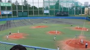 秋季東京都高等学校野球大会「二松學舍大附 − 帝京」11