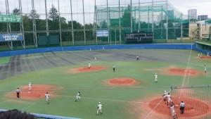 秋季東京都高等学校野球大会「二松學舍大附 − 帝京」12