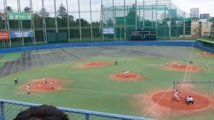 秋季東京都高等学校野球大会「二松學舍大附 − 帝京」13