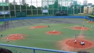 秋季東京都高等学校野球大会「二松學舍大附 − 帝京」14