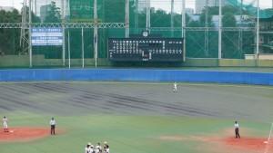 秋季東京都高等学校野球大会「二松學舍大附 − 帝京」15