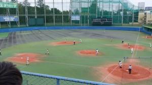 秋季東京都高等学校野球大会「二松學舍大附 − 帝京」17