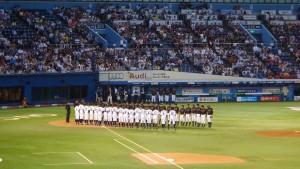 侍JAPAN壮行試合「高校日本代表 VS 大学日本代表」11