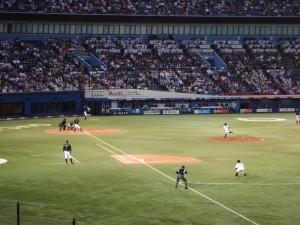 侍JAPAN壮行試合「高校日本代表 VS 大学日本代表」15