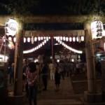 下町の祭りの雰囲気を楽しめた「高砂神社」