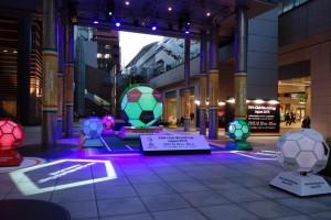 日テレの広場でサッカー演出!4