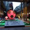 日テレの広場でサッカー演出!