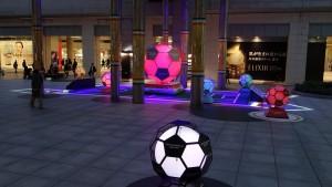 日テレの広場でサッカー演出!7