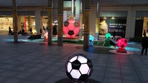 日テレの広場でサッカー演出!8