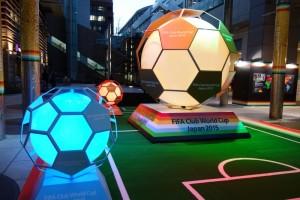日テレの広場でサッカー演出!10