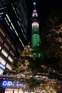 「TOKYO SKYTREETOWN DREAM CHRISTMAS 2015」~イルミネーション演出~(上)13