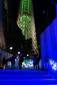 「TOKYO SKYTREETOWN DREAM CHRISTMAS 2015」~イルミネーション演出~(上)17