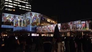 「TOKYO SKYTREETOWN DREAM CHRISTMAS 2015」~プロジェクションマッピング~(下)2