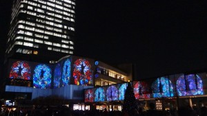 「TOKYO SKYTREETOWN DREAM CHRISTMAS 2015」~プロジェクションマッピング~(下)5
