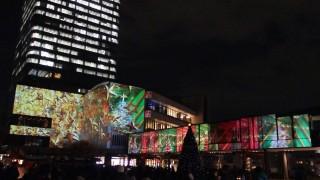 東京スカイツリータウン全体でイルミ演出! 「TOKYO SKYTREETOWN DREAM CHRISTMAS 2015」~プロジェクションマッピング~(下)