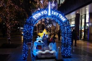 「TOKYO SKYTREETOWN DREAM CHRISTMAS 2015」~イルミネーション演出~(上)4