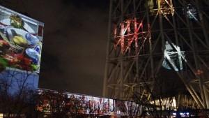 「TOKYO SKYTREETOWN DREAM CHRISTMAS 2015」~プロジェクションマッピング~(下)12