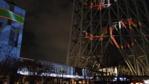「TOKYO SKYTREETOWN DREAM CHRISTMAS 2015」~プロジェクションマッピング~(下)14