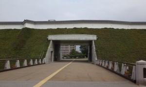 公園のようにゆったりできた、宇都宮城址公園
