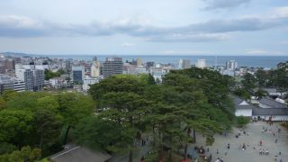 小田原城の天守閣にのぼってきました。(下)