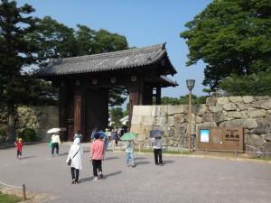 姫路城の門(13)