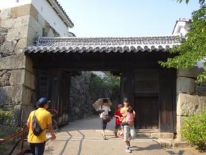 姫路城の門(2)