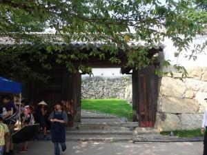 姫路城の門(3)