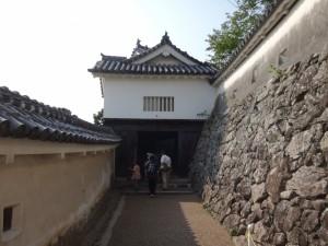 姫路城の門(4)