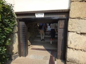 姫路城の門(5)