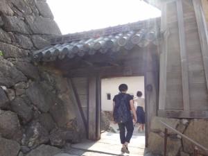 姫路城の門(6)