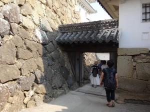 姫路城の門(7)