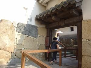 姫路城の門(9)