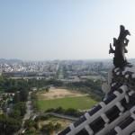 新しくなった「姫路城」を見に行ってきました~天守閣からの眺望~