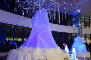 AQUA XMAS ILLUMINATION 2015「オーロラと流氷の恋の物語」10